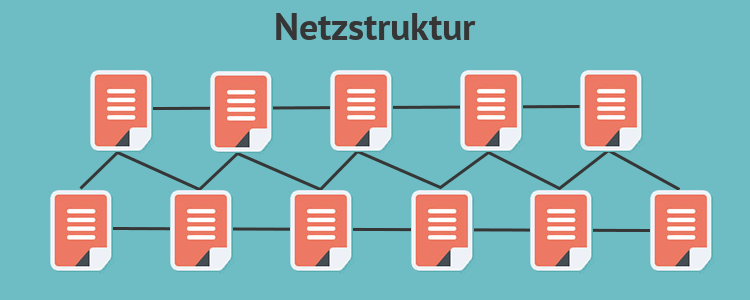 Netzstruktur Hyperlinks