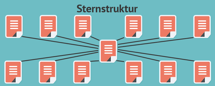 Sternstruktur Hyperlinks